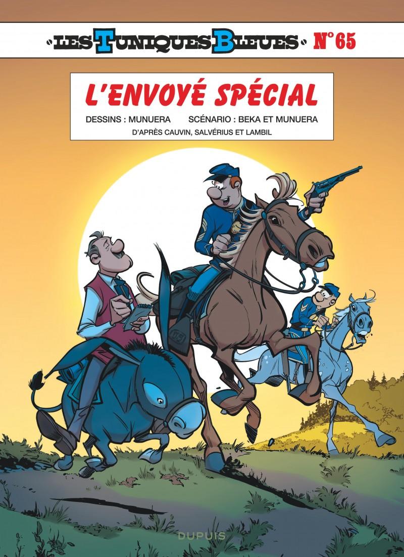Les Tuniques Bleues - tome 65 - L'envoyé spécial