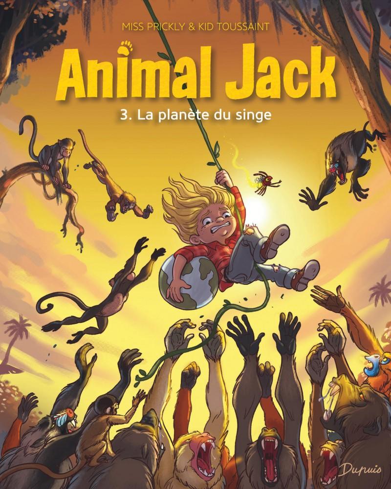 Animal Jack - tome 3 - La planète du singe