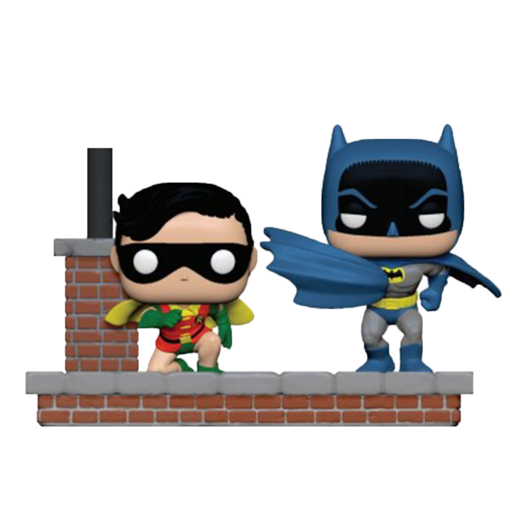 POP! Comic Moment - Batman 80 ans - Batman et Robin - principal