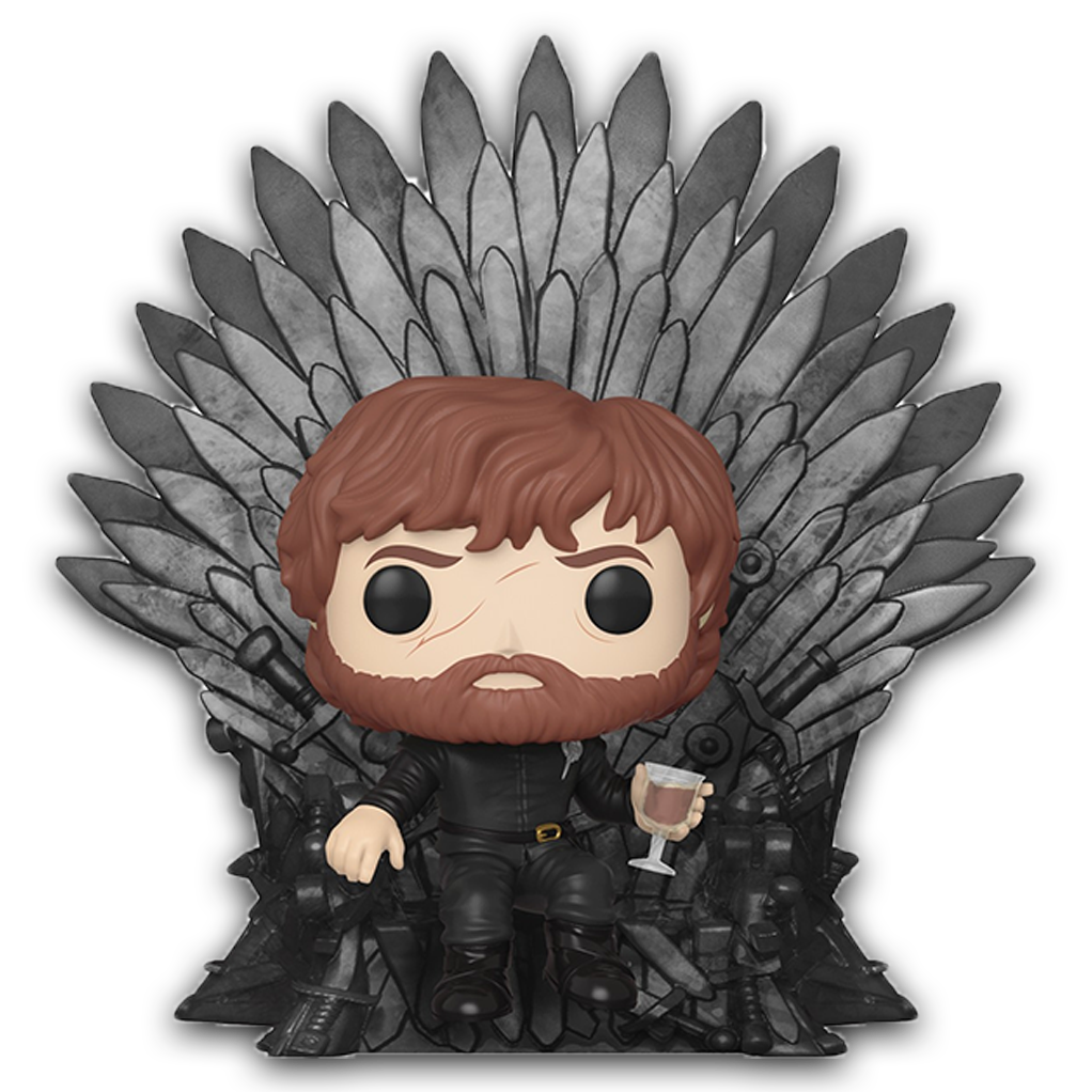 POP! Deluxe - Game of Thrones - Tyrion sur le Trône de Fer