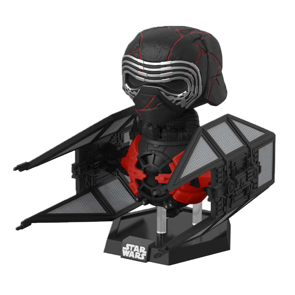 POP! Deluxe - l'ascension de skywalker - Star Wars - Kylo Ren dans un Whisper