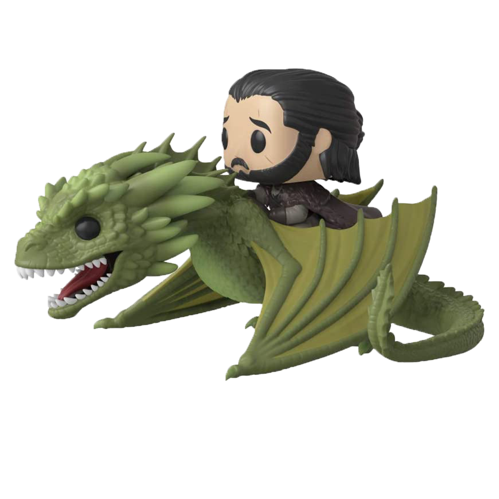 POP! Rides - Game of Thrones - Jon Snow sur Rhaegal