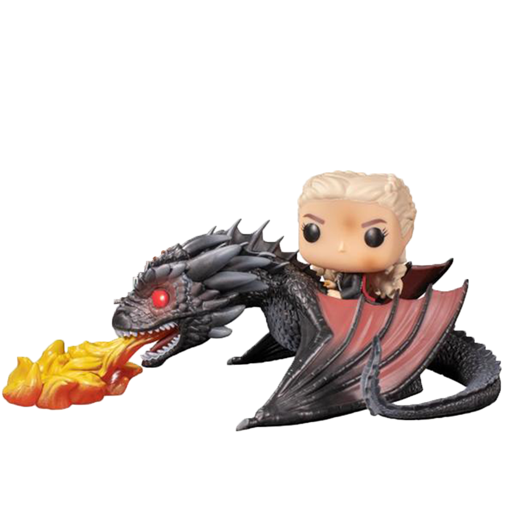 POP! Rides - Game Of Thrones - Daenerys vole sur Drogon
