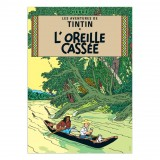 Affiche Tintin - L'Oreille Cassée