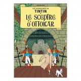 Affiche Tintin - Le Sceptre d'Ottokar