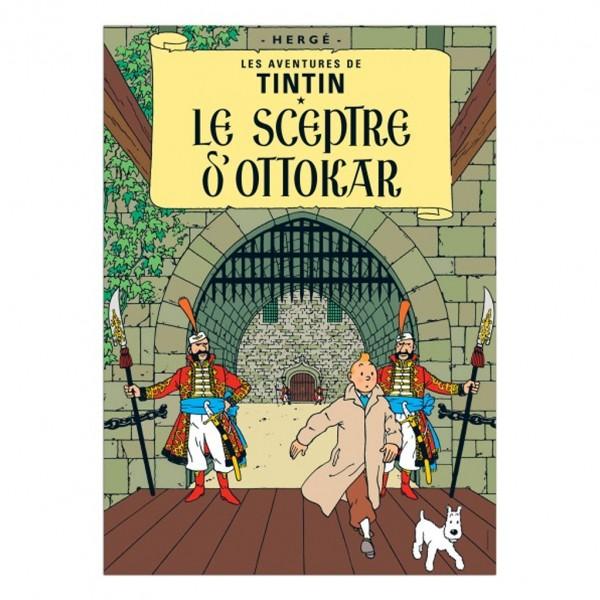 Poster Tintin King Ottokar's Sceptre (french Edition)