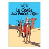 Affiche Tintin - Le Crabe aux Pinces d'Or