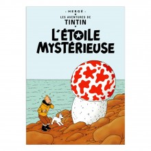 Poster Tintin The shooting star (french Edition)