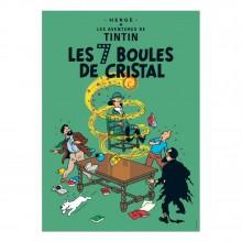 Affiche Tintin - Les 7 Boules de Cristal