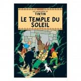Affiche Tintin - Le Temple du Soleil