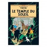 Poster Tintin Prisoners of the sun (french Edition)