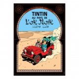 Affiche Tintin - Tintin au Pays de l'Or Noir