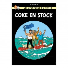 Poster Tintin The red sea sharks (french Edition)