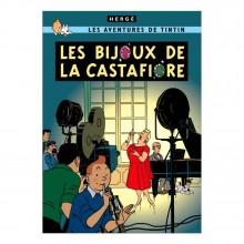 Poster Tintin The Castafiore Emerald (french Edition)
