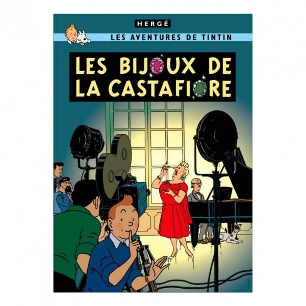 Affiche Tintin - Les Bijoux de la Castafiore