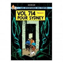 Affiche Tintin - Vol 714 pour Sydney