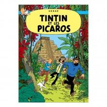 Poster Tintin Tintin and the Picaros (french Edition)
