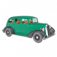 Tintin's cars 1/24 : The Gangsters' car