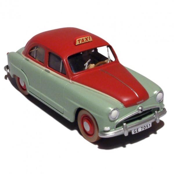 Tintin's cars 1/24 - The Genevan taxi