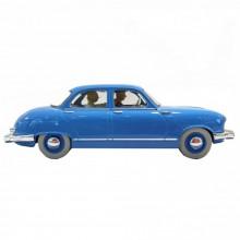 Les véhicules de Tintin au 1/24 : Le taxi Panhard Dyna Z de