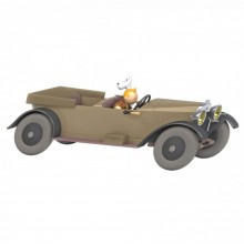 Tintin's cars 1/24 - Tintin's Mercedes fro The land of the Soviets