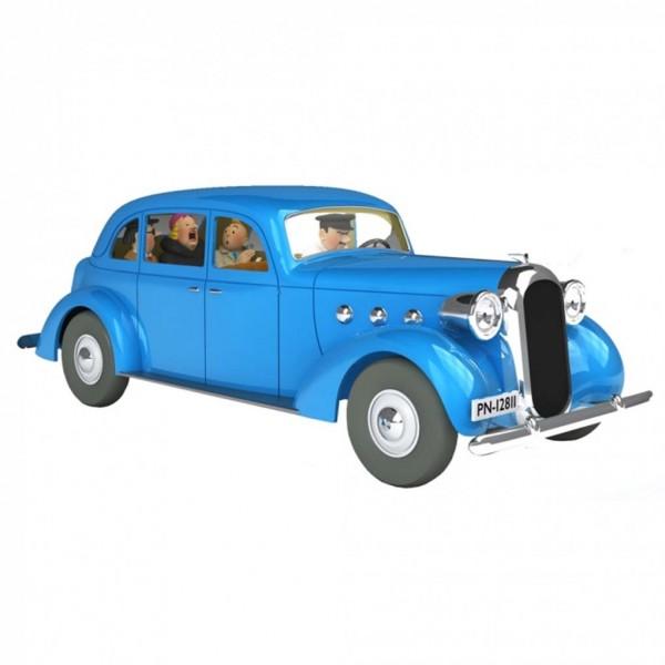 Les véhicules de Tintin au 1/24 : La voiture de la Castafiore dans Le Sceptre d'Ottokar