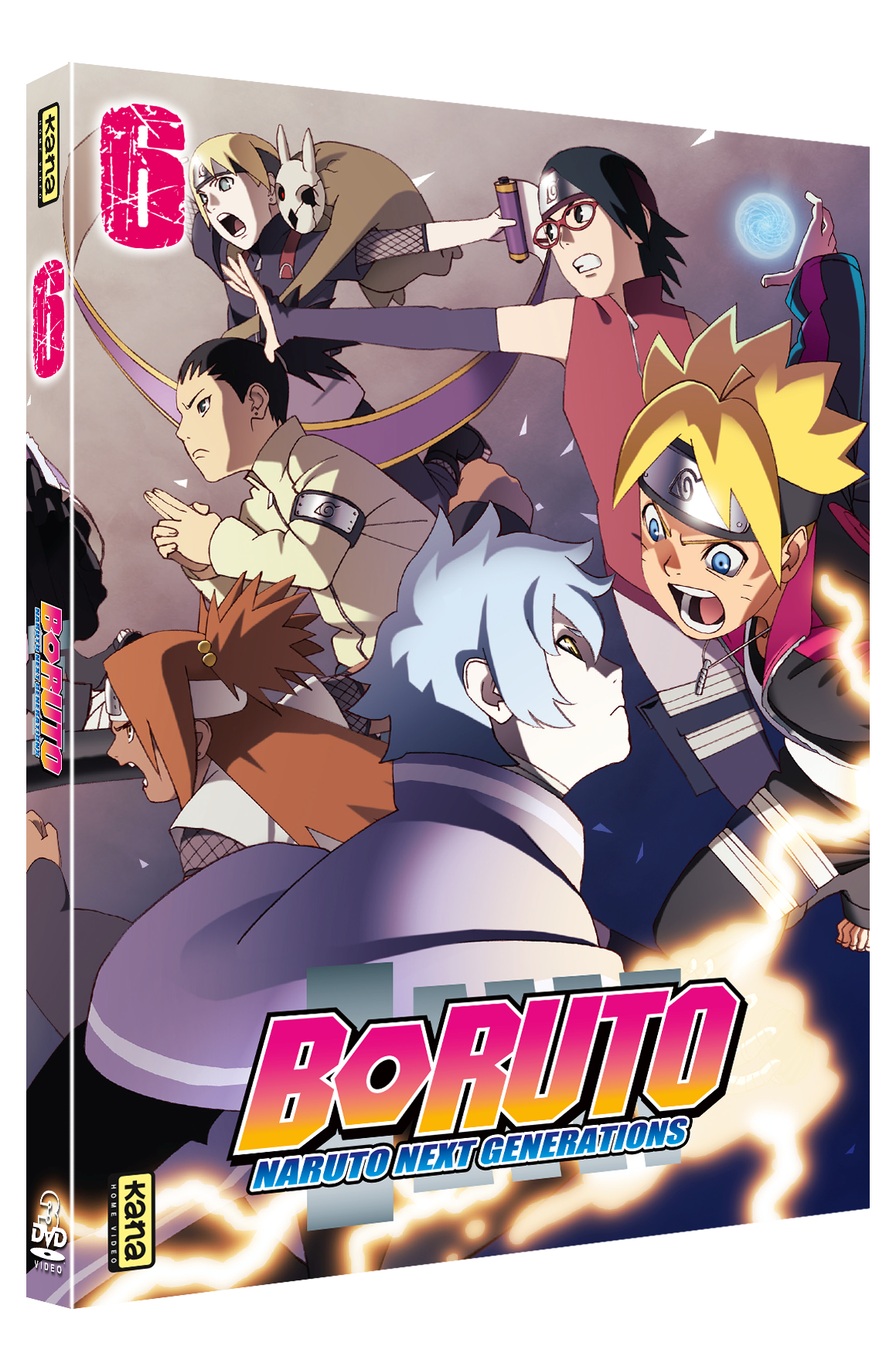Boruto Naruto Next Generation Vol.6 – DVD