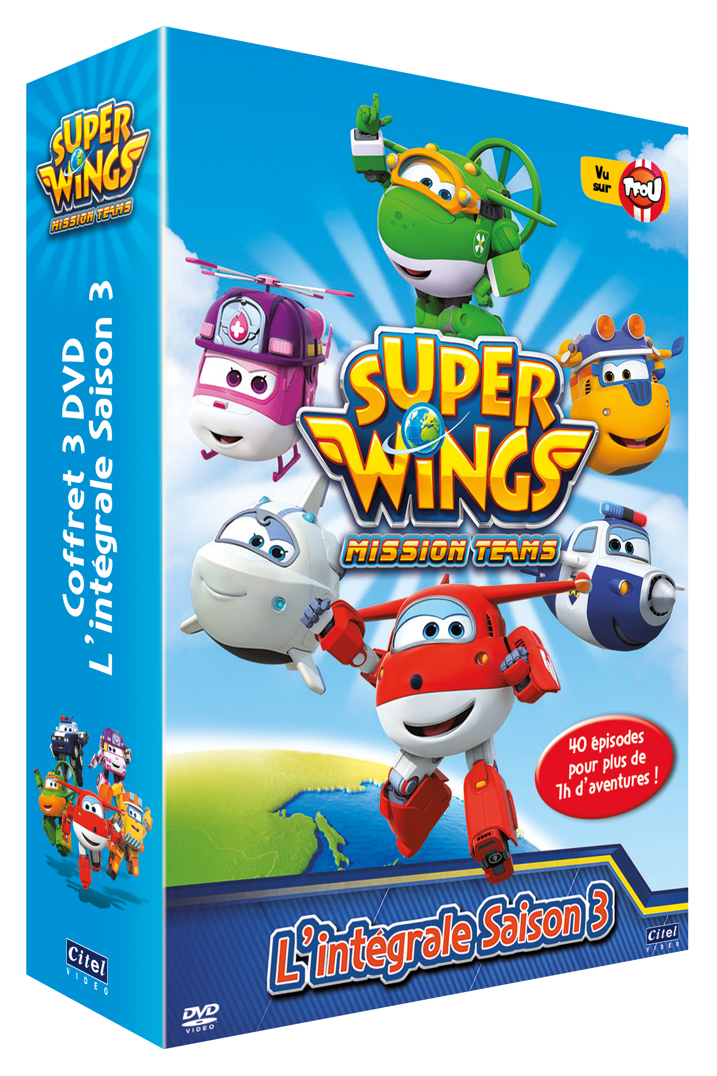 SUPER WINGS SAISON 3 - COFFRET 3 DVD