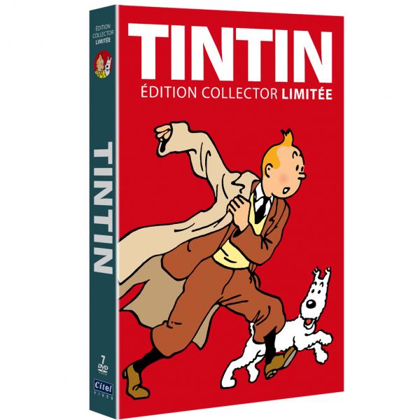 Box set collector Tintin Limited edition