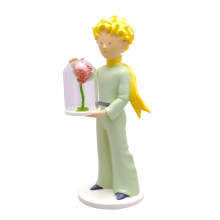 Figurine Collectoys The little prince and the rose