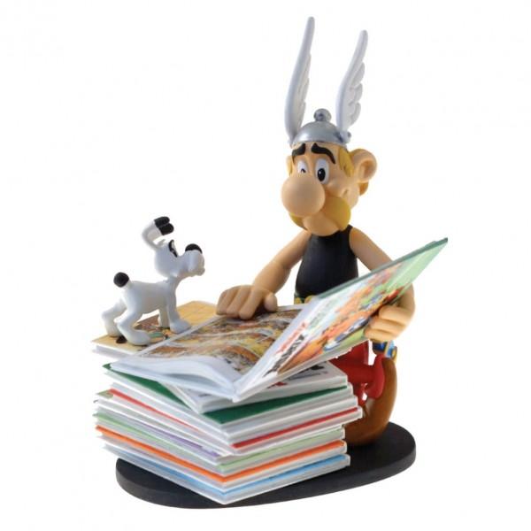 Figurine Asterix comics pile (2nd version)