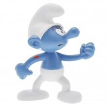Figurine - Le Schtroumpf costaud