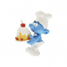 Pastry Chef Smurf - Collectoys
