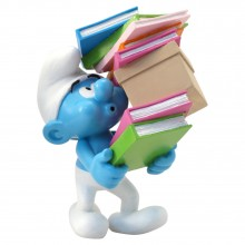 Pile of Books Smurf - Collectoys