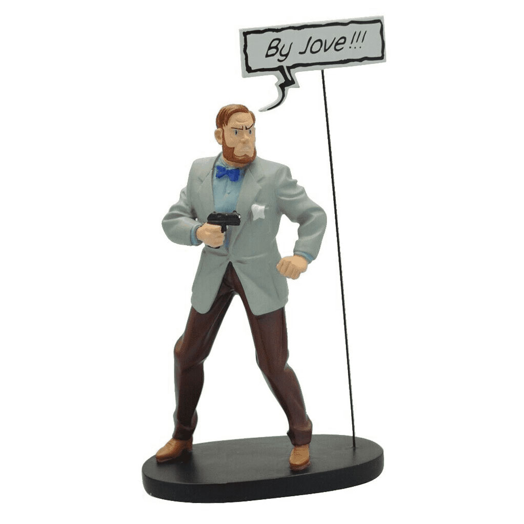 "Figurine Collectoys Blake & Mortimer, Mortimer ""by jove !!!"""
