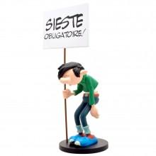 Gaston et sa pancarte Sieste - Collectoys