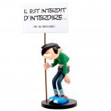 Gastion et sa pancarte Interdit - Collectoys