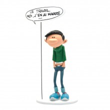 Figurine Gomer Goof and his sign
