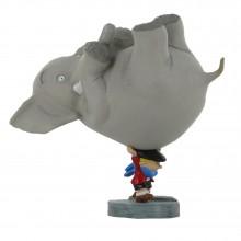 Figurine - Benoit Brisefer portant l'éléphant