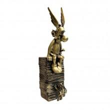 Collectible Pixi bronze - Astérix & Idéfix, pile d'albums