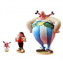 Idéfix, Pepe et Obélix font pression - Figurine Pixi