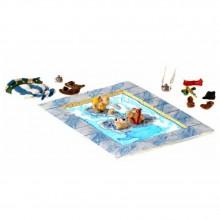 Figurine Pixi Asterix, Obelix and Dogmatix Pool trouble