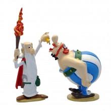 Figurine Pixi Obelix and Getafix magic potion