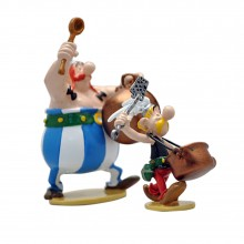 Figurine Pixi Astérix, La batterie de casseroles