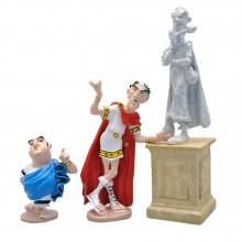 Figurine Pixi Astérix, Tu peux descendre de ton socle, Zérozérosix !