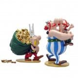 Figurine Pixi Astérix, Obélix et son cousin Amérix