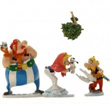 Pixi Figurine Astérix : The mistletoe under the snow