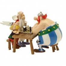 Pixi Figurine Astérix, Obélix and Panoramix : the chess game