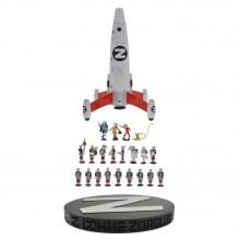 Figurine Pixi Mini Z is for Zorglub rocket