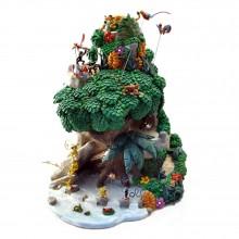 Figurine Pixi Mini - The Marsupilamis' Mountain